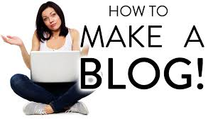make a blog step by step for beginners youtube