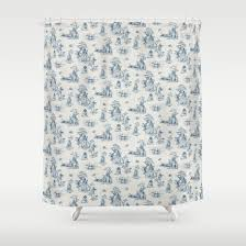 toile de starwars shower curtain by anion society6