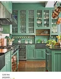 Green Cabinet Kitchen 7 Best Hickory Kitchen Cabinet Doors Images On Pinterest Hickory