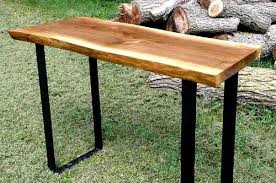 live edge outdoor table live edge cherry bench greg aultman furniture