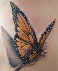fantastic monarch flying butterfly design tattooshunter com