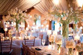 wedding decoration beautiful dining table centerpiece design with
