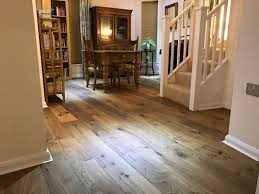 Laminate Flooring 15mm Fumed Engineered Character Oak Flooring 185mm X 15mm