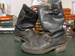 motorcycle harness boots unknown engineer boots u2013 cord soles brass buckels u2013 usa made
