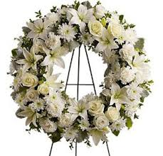 funeral wreaths serenity funeral wreath for delivery today