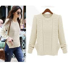 cable knit sweater womens personality side split cable knit sweater sweaters cardigans