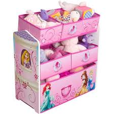 disney princess toddler bed and multi bin organizer with bonus bed