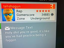 Xbox Live Meme - a compliment on xbox live oh nevermind meme guy