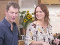 bobby flay challenges the pioneer to a thanksgiving