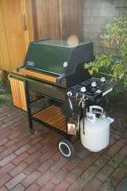 an old farm restoring a vintage weber grill