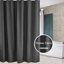 Amazon Extra Long Shower Curtain Amazon Com Eforcurtain Heavy Duty Shower Curtain 100 Polyester