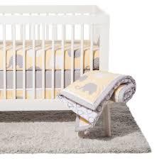 nojo crib bedding set 8pc elephant dream target