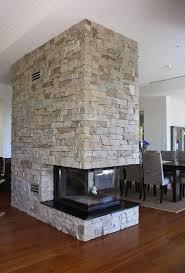 eco outdoor alpine dry stone walling on indoor blade wall