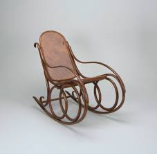 Bent Wood Rocking Chair No 4 Rocking Chair Ca 1860 Objects Collection Of Cooper