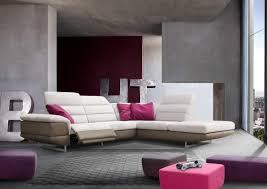 canape d angle bicolore acheter votre canapé d angle bicolore avec relax électrique chez
