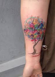 the 25 best watercolor tattoo tree ideas on pinterest scenery