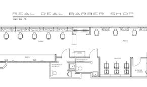 Shop Floor Plans Shop Plans Real Deal Barber Floor Plan Building Plans Online