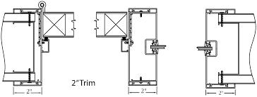 How To Frame A Interior Door Type Ii Frame System Interior Aluminum Frames Aluminum Doors