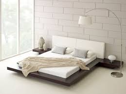 awesome neutral minimalist bedroom design featuring hanging
