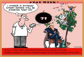 5 day work week lic pensioners chronicle embracing the 4 day work week make