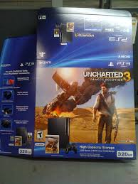 playstation 3 console black friday uncharted 3 ps3 320gb bundle gimme gimme games