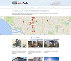 In And Out Map Web Design Project For Mattu Realty