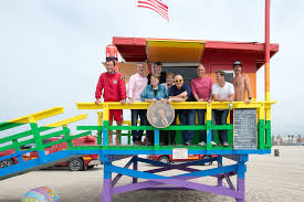 County Flags Venice Pride Flag Lifeguard Tower Unveiled At Venice Pride