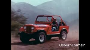 jeep amc 1976 amc jeep cj7 commercial hang glider youtube