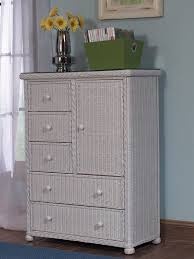 Chest Of Drawers With Wicker Drawers 5 Drawer 1 Door Wicker Chest Wicker Paradise