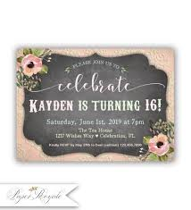 Sweet 16 Birthday Invitation Cards Sweet 16 Birthday Invitations Quinceañera Spanish