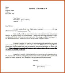 sample collection letter general resumes