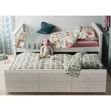 Twin Bed With Pull Out Bed Best 25 Single Trundle Bed Ideas On Pinterest Double Beds