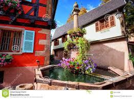 riquewihr alsace france stock photo image 60015898