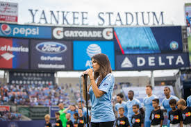 Fc Dallas Field Map by Madison Beer On Singing The National Anthem At Yankee Stadium