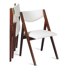 Upholstered Folding Dining Chairs Inspiring Folding Dining Chairs Alluring Mid Century Modern