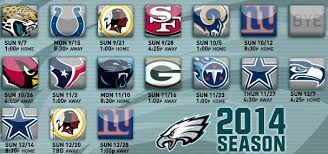 the eagles 2014 schedule thanksgiving crossing broad