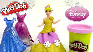 plus robe de mariã e play doh magiclip disney princesse pâte à modeler cendrillon