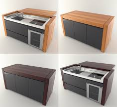 systema essential kitchen transformer table 3d model in