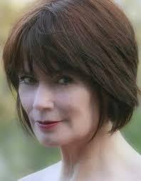 choppy haircuts for women over 50 dark brown short bob for over 50 hairstyles pinterest short