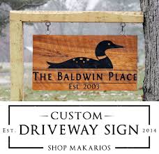 Custom Decorative Signs 17 Best Driveway Sign Ideas Images On Pinterest Outdoor Signs
