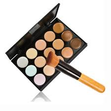 Make Up City Colour mefeir 15 colors makeup concealer palette with 11pcs bamboo makeup