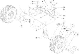 toro parts u2013 dh 200 lawn tractor