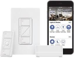 smart light switch dimmer lutron wireless smart home lights switch dimmer kit w smart bridge