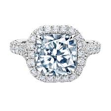 cushion cut engagement rings with halo 3 20 ct cushion cut halo pave ring engagement