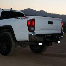Truck Bed Light Bar Zroadz Z389401 Rear Bumper Mounts For Two 6