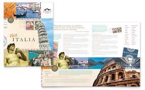 download travel brochure italy travel brochure template word