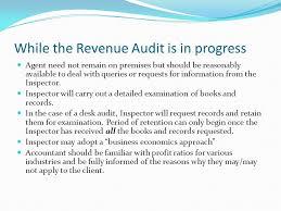 Desk Audit Revenue Audits Returns Processed In A U201cnon Judgemental U201d Manner