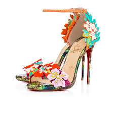 christian louboutin ha why luna python sandals womens in version