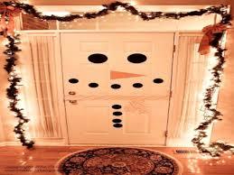 snowman door decorations decorating ideas reindeer door decorations snowman door