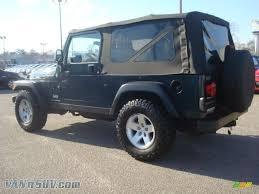 dark green jeep wrangler unlimited 2006 jeep wrangler unlimited rubicon 4x4 in deep beryl green pearl
